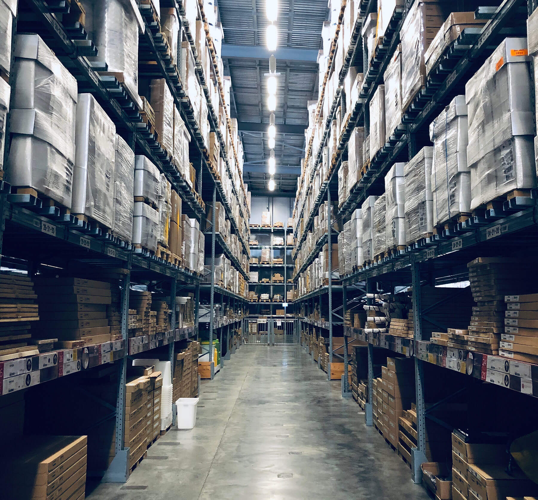 Warehousing header - Warehousing & Fulfillment